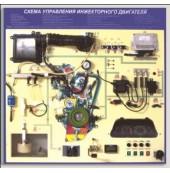 Стенд-тренажер «Схема управления инжекторного двигателя»