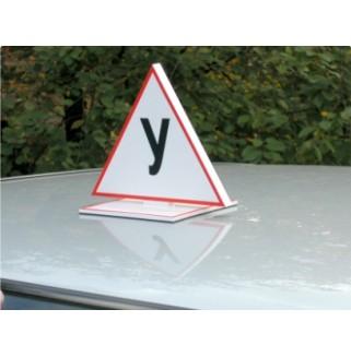 "Знак ""У"" (на крышу автомобиля)"
