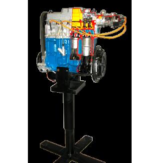 Двигатель ВАЗ 2108-09 на подставке