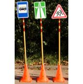Набор переносных дорожных знаков  (20 знаков дорожного движения)