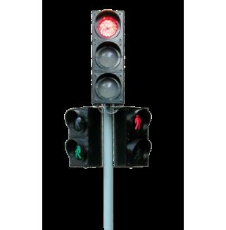 Комплект светофоров тройной (радиоуправляемый, электрифицированный)