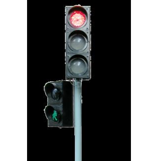 Комплект светофоров двойной  (радиоуправляемый, электрифицированный)