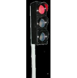 Светофор транспортный  (радиоуправляемый, электрифицированный)