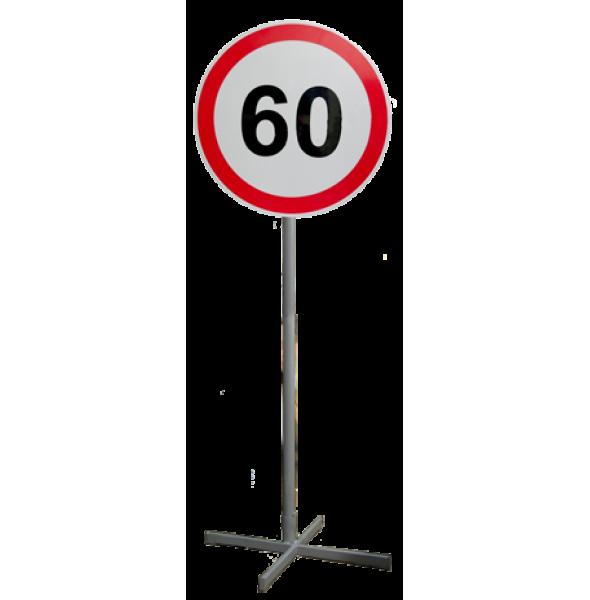 Знак дорожный на опоре (переносной). ГОСТ Р 52290-2004.