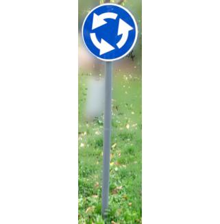 Знак дорожный на опоре (стационарный)