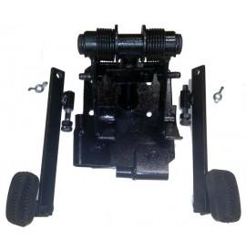 Дублирующие педали сцепления и тормоза для учебных ТС с МКПП