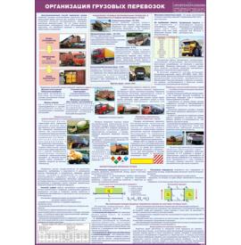 """Плакат """"Организация перевозок грузов"""""""