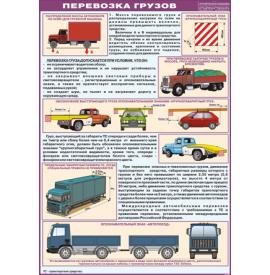 "Плакат ""Перевозка грузов"""