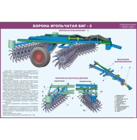 Стенд «Борона игольчатая БИГ -3»
