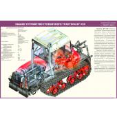 Стенд «Общее устройство гусеничного трактора ВТ-150»