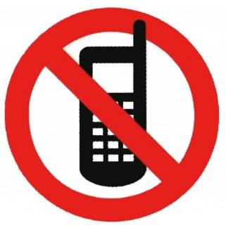 """Знак """"Запрещается пользоваться телефоном"""""""