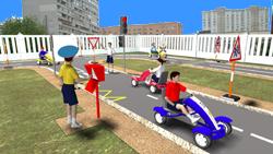 3D проект автогородка