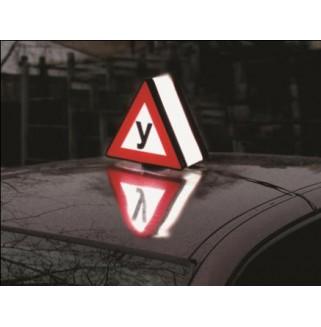 """Световой знак """"У"""" (на крышу автомобиля)"""