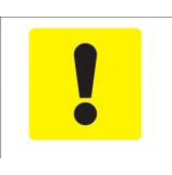 """Опознавательный знак ТС """"Начинающий водитель"""" наклейка"""