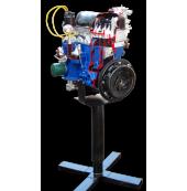 Двигатель ВАЗ 2101-07, на подставке (с возможностью демонстрации работы, ручной привод)