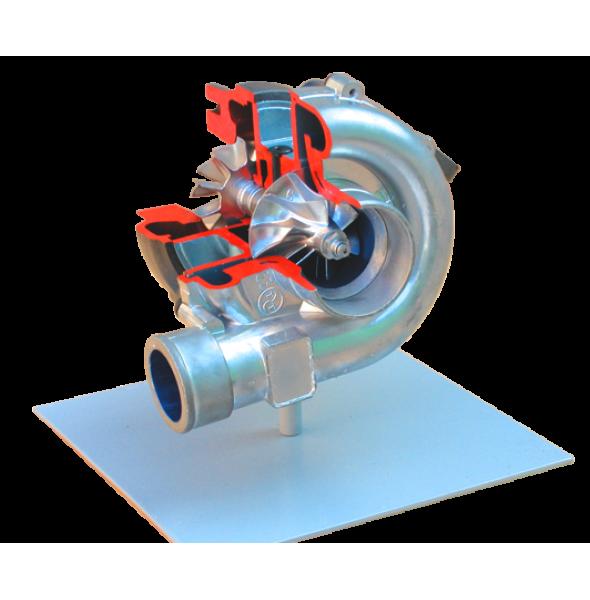 Препарированный турбокомпрессор (КАМАЗ)