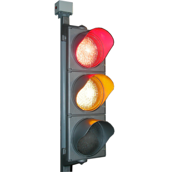 Светофор транспортный (радиоуправляемый, электрифицированный) (Т.1.1) ГОСТ Р 52282-2004